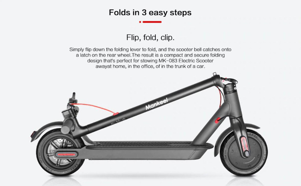 electric scooters in stock