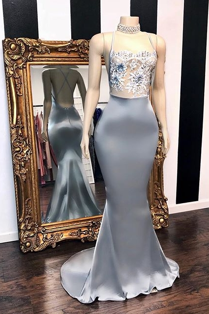 Sexy Sequins Summer Sleeveless Trumpet Prom Dresses | Glitter Halter Red Evening Gowns | Suzhou UK Online Shop