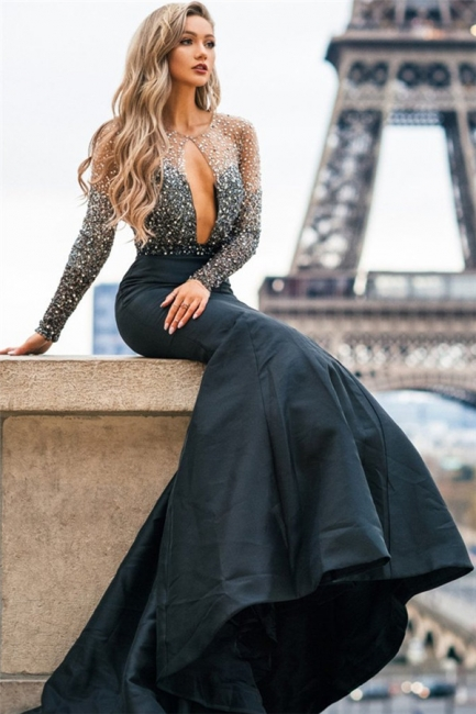 https://www.suzhoudress.co.uk/glamour-black-sheer-quality-tulle-appliques-sleeved-trumpet-prom-dress-g24041?cate_1=27