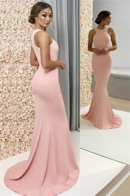 Glamorous Halter Sleeveless Prom Dresses |  Popular Sexy Mermaid Evening Dresses