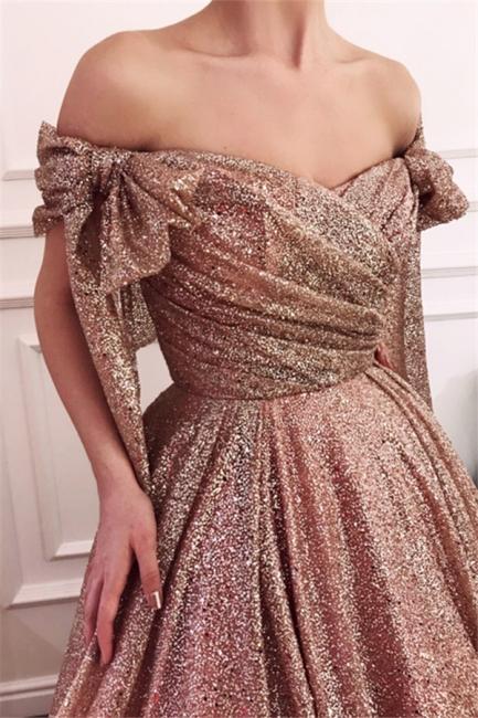 Amazing Off-The-Shoulder Sequins Princess A-line Evening Dress   Suzhou UK Online Shop