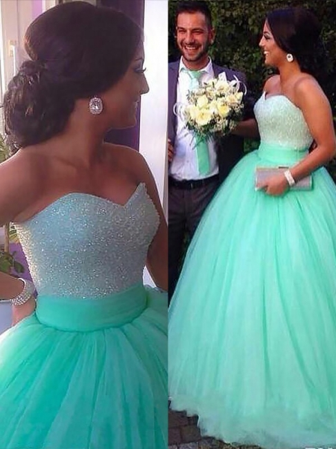 Dark-Green Open Back Prom dresses Sleeveless Beads Sexy Evening Dresses