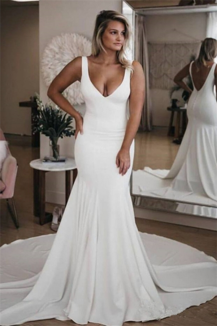 Gorgeous FLower Appliques Sweetheart Wedding Dresses | Sheer Sleeveless Floral Bridal Gowns