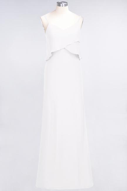 Elegant Halter Chiffon Long Bridesmaid Dress BM1576