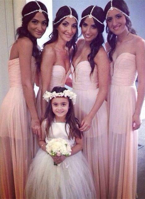Bridesmaid Dresses  Sweetheart Sleeveless A Line See Through  Party Gowns