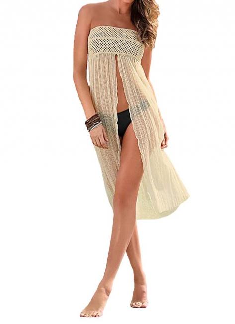 Hot Women Crochet Hollow out Meshy Beachwear Bohemian Bikini UK