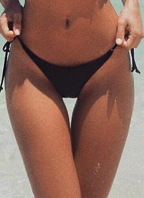 V-Shape Bikini UK Bottom Tie Side Swim Brief Brazilian Panties