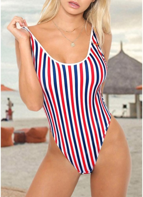 Women One Piece Swimsuits UK Sexy Backless Padded Bathing Suit UK Beach Wear