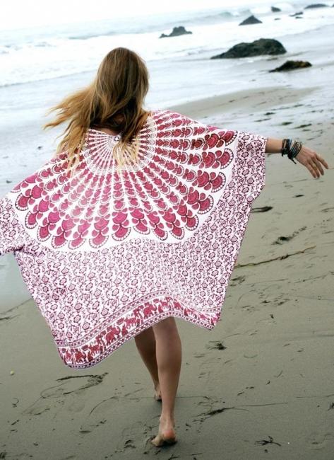 Women Chiffon Beach Kimono