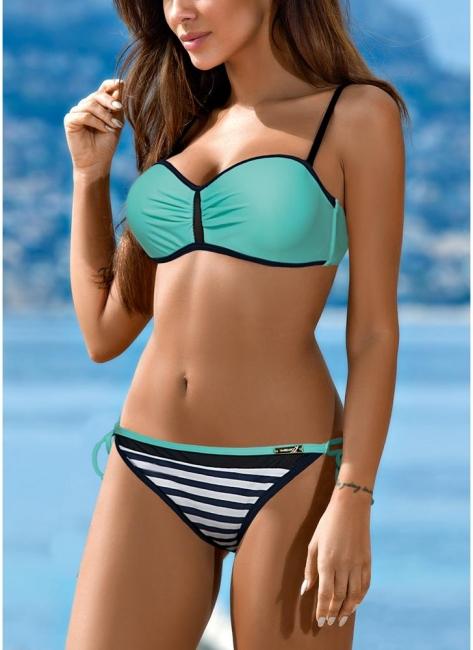 Bikini Set UK Contrast color Swimsuits UK