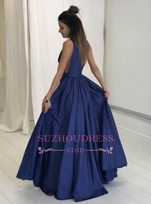 Floor Length Sleeveless Long Evening Gowns Formal  Gorgeous V-Neck Prom Dress BA4950