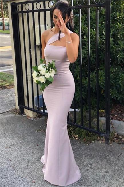 Simple Strapless Mermaid Evening Dresses | Floor Length Sexy Prom Dress