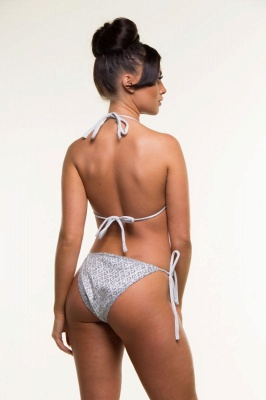 Shiny Patterns Bikini Bathing Suit Set_5