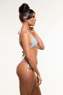 Shiny Patterns Bikini Bathing Suit Set_6