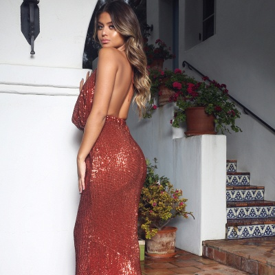 Womens V-Neck Halter Backless Teenage Sexy Trumpet/Mermaid Online Prom Dress Sale | Suzhoudress UK_5