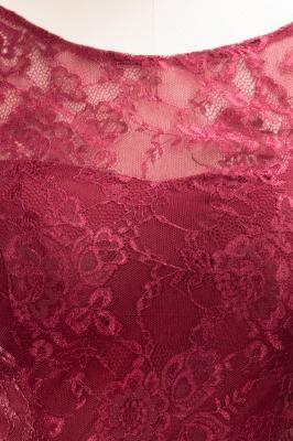 A-Line Chiffon Jewel Teenage Floor-Length Bridesmaid Dresses with Ruffles | Suzhoudress UK_7