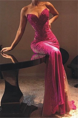 Flirty Sheath Sweetheart Appliques  Exclusive Prom Dresses UK   New Styles_1