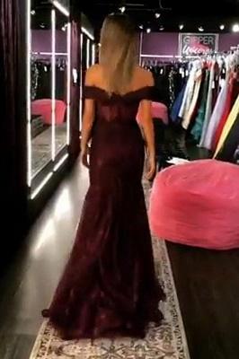 Trumpet Off-the-Shoulder Strapless Long Prom Dress | Suzhou UK Online Shop_2