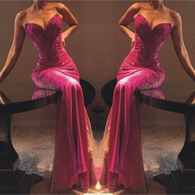 Flirty Sheath Sweetheart Appliques  Exclusive Prom Dresses UK   New Styles_2