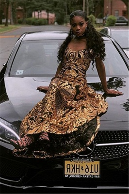 Glamourous Sheath Off The Shoulder Shining Gold Applique Exclusive Prom Dresses UK   New Styles_4
