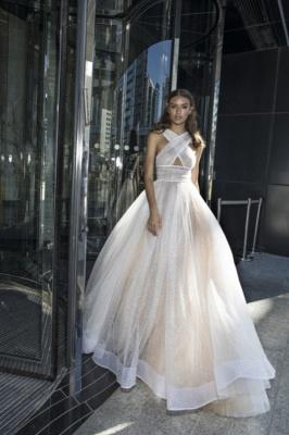 Chic Princess A-line Summer Sleeveless Cross-Back Long Prom Dress | Suzhou UK Online Shop_1