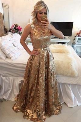 Glamour Gold Straps Beaded Sequins Summer Sleeveless Prom Dress   Suzhou UK Online Shop_1