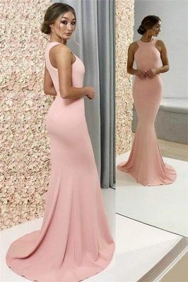 Glamorous Halter Sleeveless Prom Dresses |  Popular Sexy Mermaid Evening Dresses_1