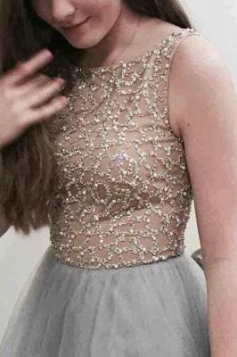 Glamorous Lace Appliques Jewel Prom Dresses | Sheer Sleeveless Evening Dresses_2