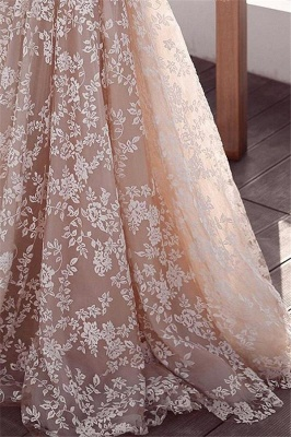 Gorgeous Lace Applique Wedding Dresses | Long Sleeves Floral Bridal Gowns_3