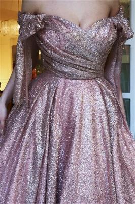 Amazing Off-The-Shoulder Sequins Princess A-line Evening Dress   Suzhou UK Online Shop_2