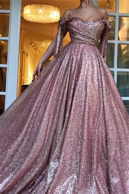 Amazing Off-The-Shoulder Sequins Princess A-line Evening Dress   Suzhou UK Online Shop_3