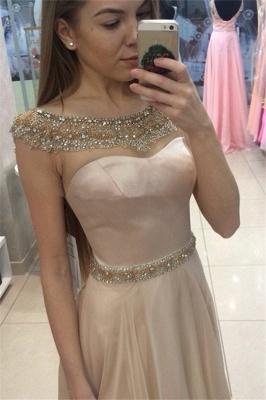 Glamorous Red Sequins Mermaid Spaghetti-Straps Long Prom Dresses_1