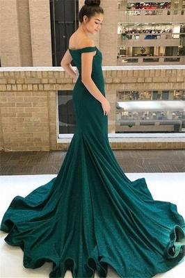 Glamorous One-shoulder Applique Prom Dresses Long Sleeves Side Slit Sexy Evening Dresses with Belt_4