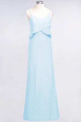 Elegant Halter Chiffon Long Bridesmaid Dress BM1576_22