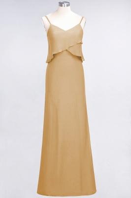 Elegant Halter Chiffon Long Bridesmaid Dress BM1576_13