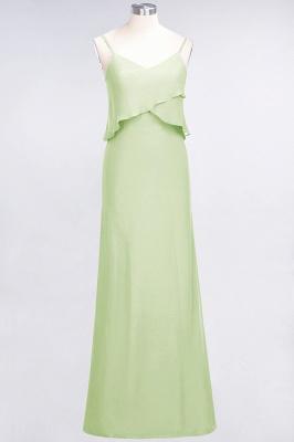 Elegant Halter Chiffon Long Bridesmaid Dress BM1576_33