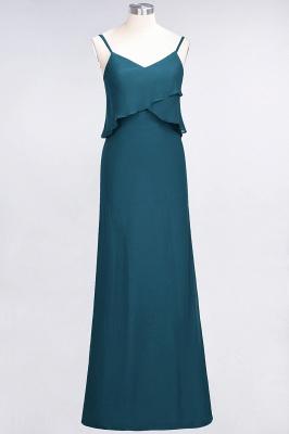 Elegant Halter Chiffon Long Bridesmaid Dress BM1576_26