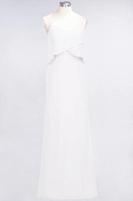 Elegant Halter Chiffon Long Bridesmaid Dress BM1576_1