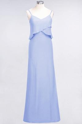 Elegant Halter Chiffon Long Bridesmaid Dress BM1576_21