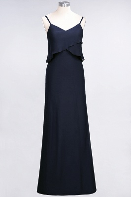 Elegant Halter Chiffon Long Bridesmaid Dress BM1576_27