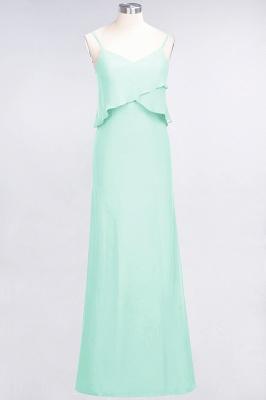 Elegant Halter Chiffon Long Bridesmaid Dress BM1576_34