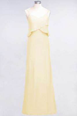 Elegant Halter Chiffon Long Bridesmaid Dress BM1576_17