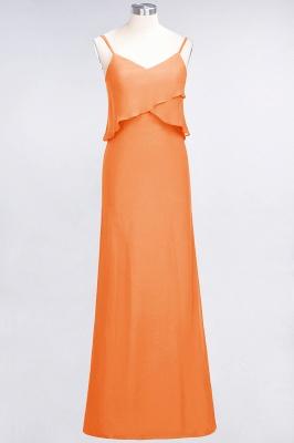 Elegant Halter Chiffon Long Bridesmaid Dress BM1576_15