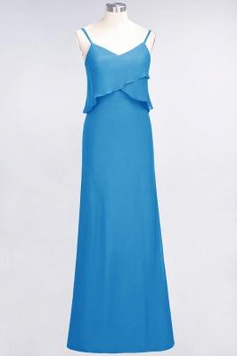 Elegant Halter Chiffon Long Bridesmaid Dress BM1576_24