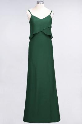 Elegant Halter Chiffon Long Bridesmaid Dress BM1576_30