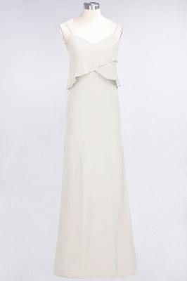 Elegant Halter Chiffon Long Bridesmaid Dress BM1576_2