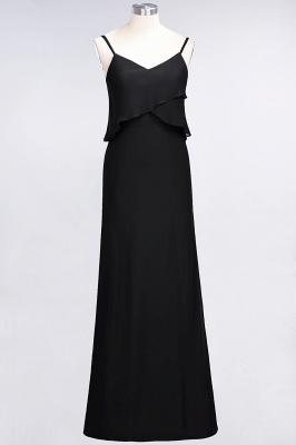Elegant Halter Chiffon Long Bridesmaid Dress BM1576_28