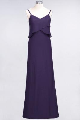 Elegant Halter Chiffon Long Bridesmaid Dress BM1576_18
