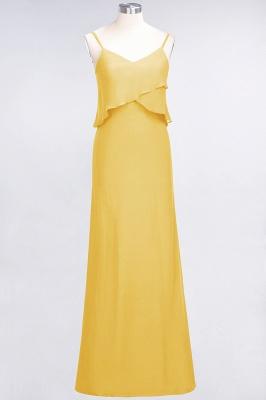 Elegant Halter Chiffon Long Bridesmaid Dress BM1576_16