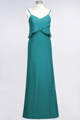 Elegant Halter Chiffon Long Bridesmaid Dress BM1576_31